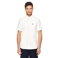 Fred Perry - Off-white Oxford shirt VXBLOWD