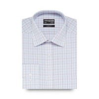 The Collection - White grid print shirt CBAECWW