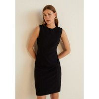 Mango JOS - Shift dress black M9121C2R6-Q11 HVNJXFC