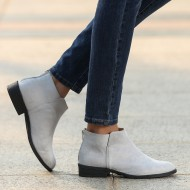 Ankle Boots with Back Zipper PQXMGJH