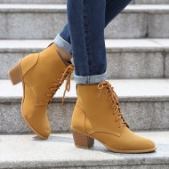 Ankle Boots with Two-Tone Laces CCXIWFA