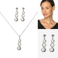 2-Piece Jewellery Set in Intricate Design UWCLCBQ