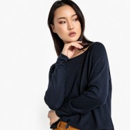 Boxy Boat Neck Jumper/Sweater CTQOQXC