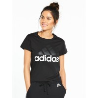 adidasEssentials Linear Tee - Black Previous TWSNDDQ